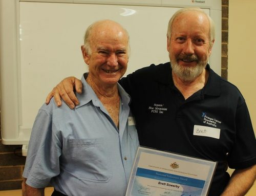 Volunteer Award – Brett Sowerby